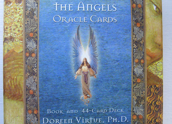 Healing with the angels oracel card