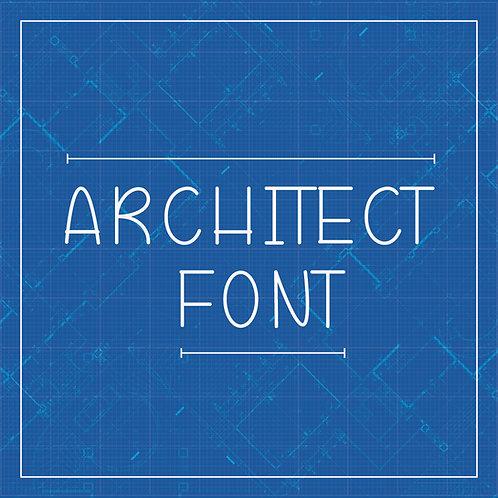 Architect font