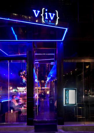 Entrance to VIV Thai restaurant