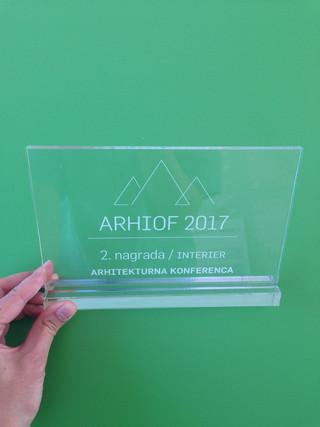 2nd prize for the Office Interior