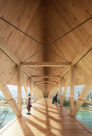 NEW: Soča footbridge