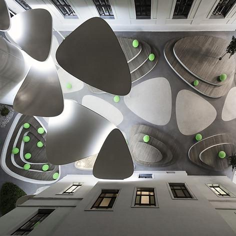 Pebble Atrium