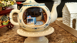 Teapot Project from the Las Vegas Miniature Enthusiasts