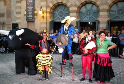 """Carne al Toro"" en el FIT de Cádiz. 2012"