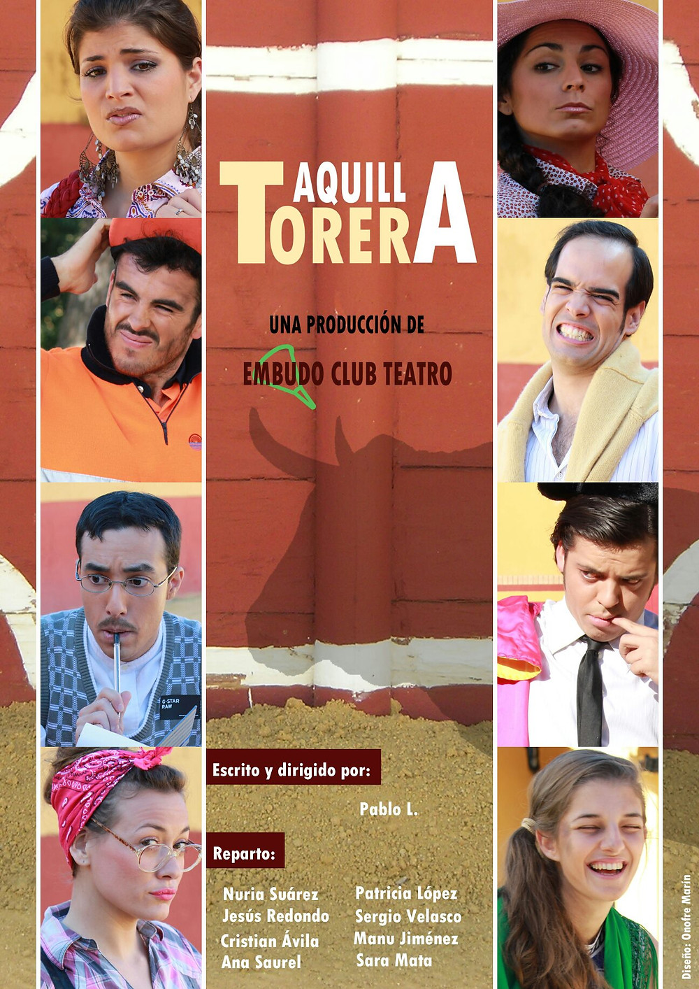 """""""Taquilla Torera"""" en la Sala Imperdible de Sevilla"""