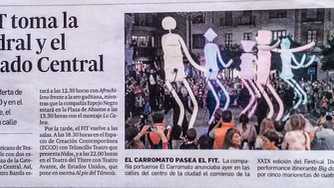 """Inauguración del XXIX FESTIVAL IBEROAMERICANO DE TEATRO (FIT) DE CÁDIZ con el espectáculo """"BIG"""