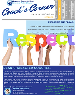 Coach's Corner Newsletter_ FEB 20 RESPEC