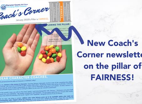 Coach's Corner Newsletter: FAIRNESS