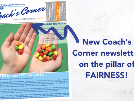 Coach's Corner Newsletter: FAIRNESS