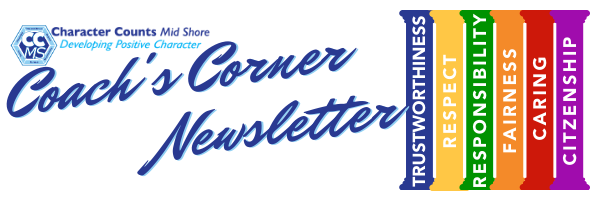 Coach's Corner Newsletter Web Page Heade