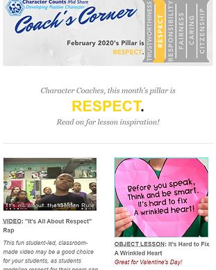 Coachs Corner Email Newsletter Thumbnail