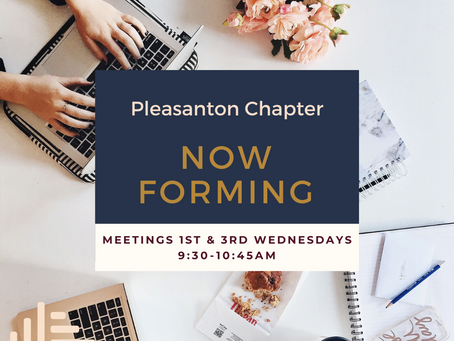 Pleasanton Chapter Now Forming