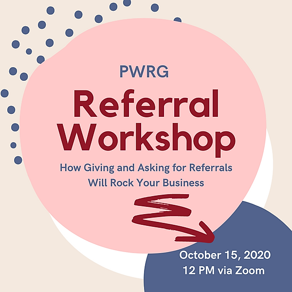 PWRG - Referral Workshop Instagram Oct 1