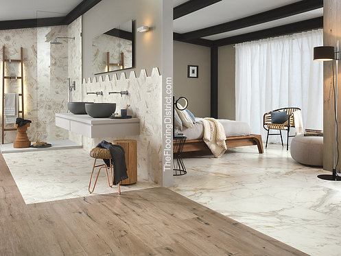 Calacatta  Bellagio | Porcelain Tile.