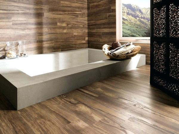 Bathroom Ideas Wooden Floor Tiles Modern Wall