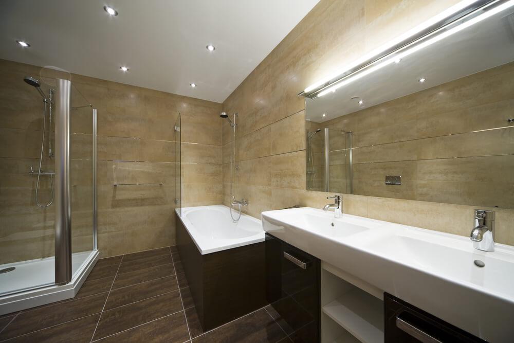 Mysite Wood Tile Bath Ideas