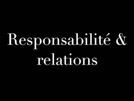 Responsabilité & relation