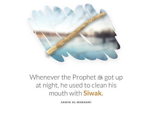 Reminder of the day - cleanliness