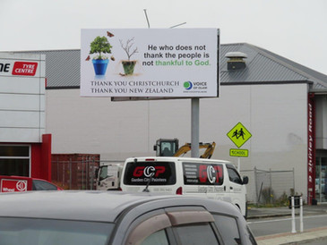 Christchurch Billboard
