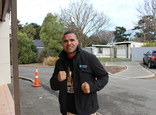 Checkout Anthony Mundine with VOI jacket :-)