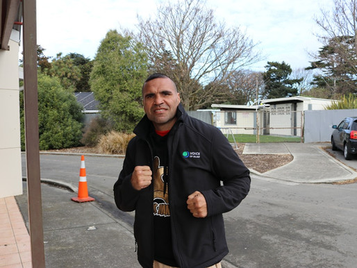 Checkout Anthony Mundine with VOI jacket :-)