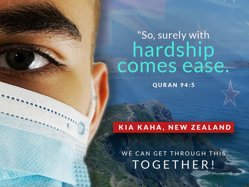 We can get through this together, New Zealand!