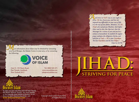 Jihad: Striving for Peace