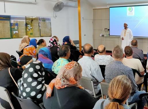 Manurewa High School visit & Masjid Ayesha