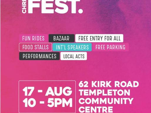 Christchurch Eid festival 17/Aug