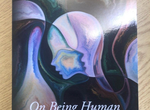 Book Launch 14th March - On Being Human