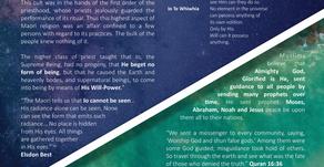 Traditional Maori belief & Islamic belief