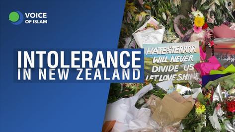 Intolerance in New Zealand