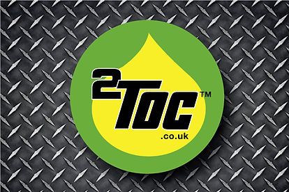 2Toc Twin Tank Oil Conversion Business Card Logo