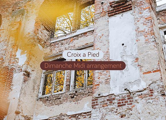 Croix a Pied - Dimanche Midi