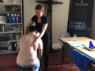 Office massage at Quayside Wealth Management