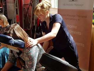 Massage at The Acorn School Summer Fair