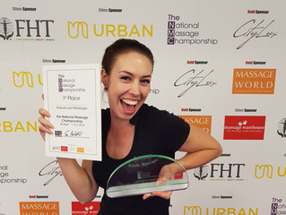 Crowned the National Champion in double win at the National Massage Championships