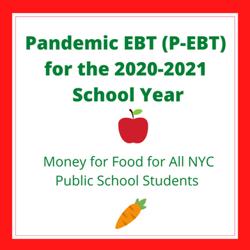 Pandemic EBT (P-EBT) for the 2020-2021 School Year