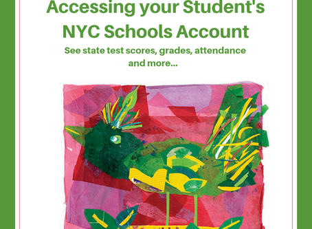 Accessing Student's NYC Schools Account. See test scores, grades, attendance and more...