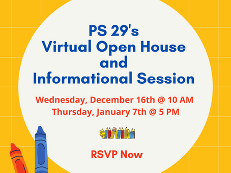 Virtual Open House and Informational Session