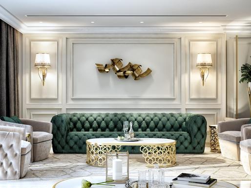 Salon w stylu extra luxury