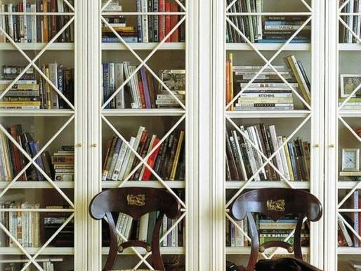 Wnętrze dla książek. Domowa biblioteka dla Moli Książkowych