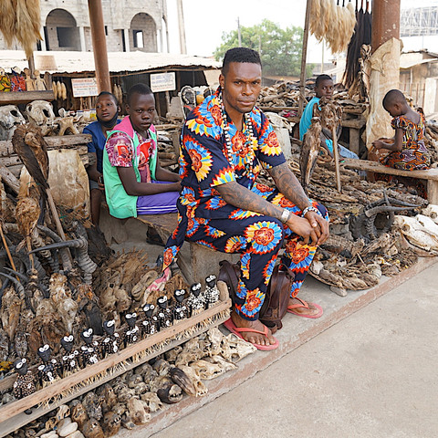 Live.Love.Africa: Tour of The Lome Fetish Market
