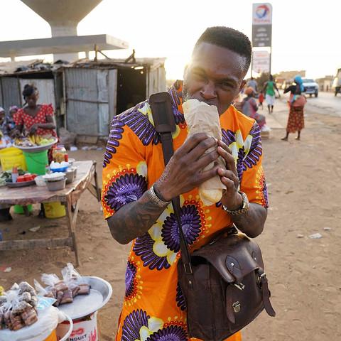 Senegalese Street Food: The Senegalese Sandwich