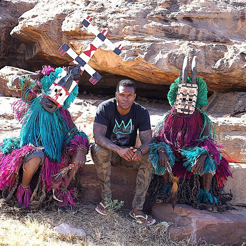 Live.Love.Africa: Dynast Amir's Dogon Initiation Ceremony