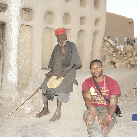 """My exclusive interview with the real Hogon. """"Dogon chief and spiritual master"""""""