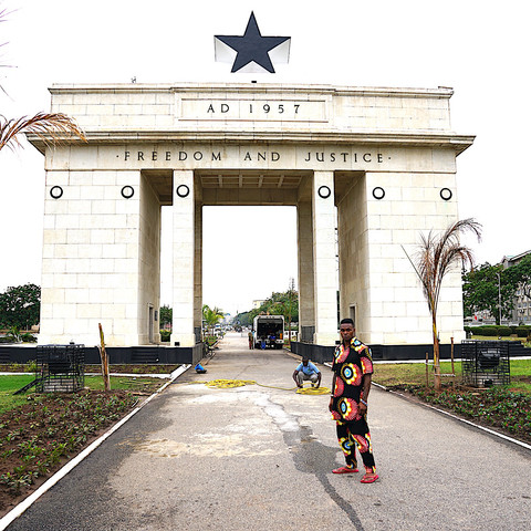 """Live. Love. Africa : Tour of Ghana Independence Square """"Black Star Square"""""""