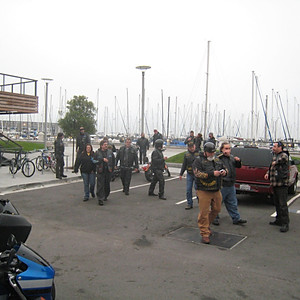 Blocking Traffic for Stadium to Stadium Marathon 2007