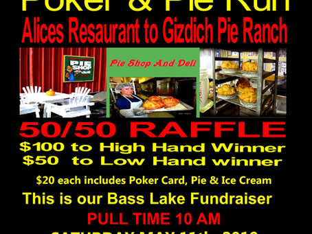5/11/19 - Survivors MC - SF Twisted Poker & Pie Run