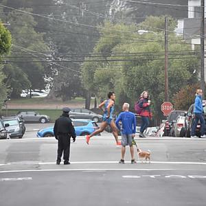 Blocking Traffic for the SF Marathon
